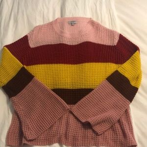 Umgee Striped Sweater